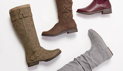 cbfdf92a34c Black High Heel Boots for women