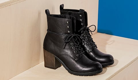 Shop Affordable Combat Boots for Women at JustFab